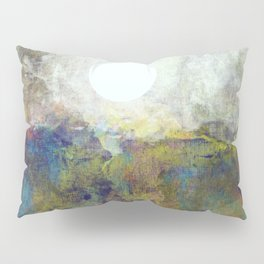 Colorful Sea and Bright Moon Pillow Sham