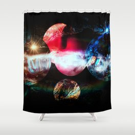 Universum Fly Shower Curtain