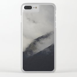 Fog in the Andes Mountains Clear iPhone Case