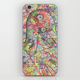 Basura Cerebro iPhone Skin