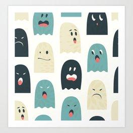 Company of lovely monsters Art Print