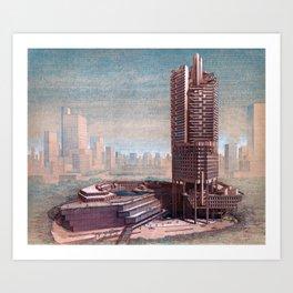 The Concourse, Beach Road, Singapore Art Print
