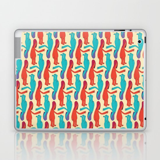 Nice To Meet You Laptop & iPad Skin