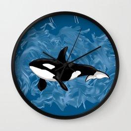 Orca 2 Wall Clock