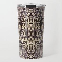 Black Int Marker Travel Mug