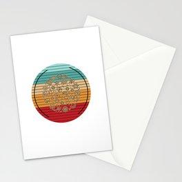Microscopic Organisms Stationery Cards