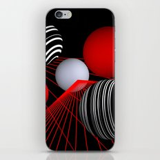 converging lines -1- iPhone & iPod Skin