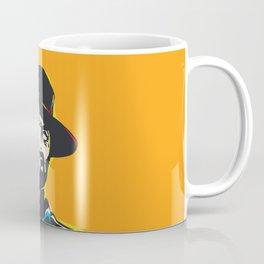 Clint Eastwood Pop Art Portrait Coffee Mug