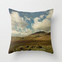 irish Throw Pillows featuring Irish Skies by Sharon Johnstone