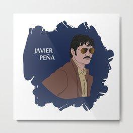 Javier Peña (Narcos) Metal Print