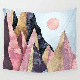 Mauve Peaks Wall Tapestry