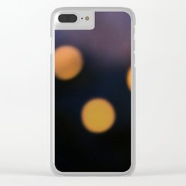 the three lights Clear iPhone Case