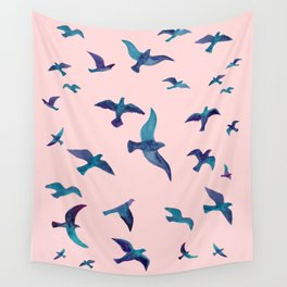 Birds II Wall Tapestry