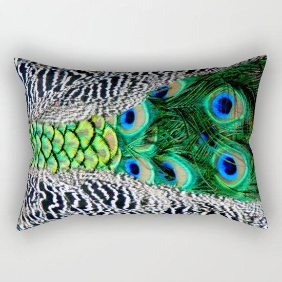 Nature's pattern Rectangular Pillow