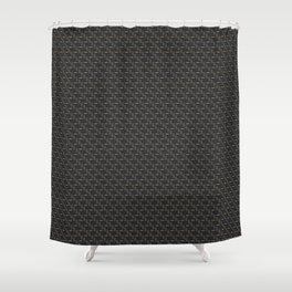 Carbon fibre - copper wire reinforcing Shower Curtain