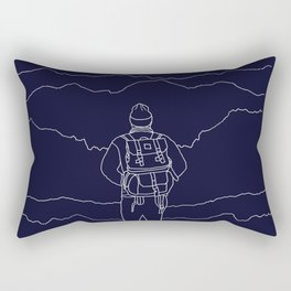 To the Mountains Rectangular Pillow