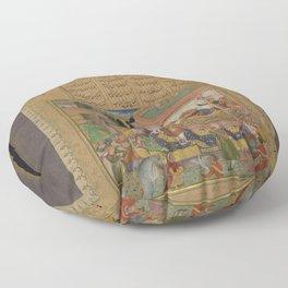 Abd al-Rahim - Farhad Before Khusraw (1595) Floor Pillow