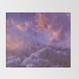 Memories of Thunder Throw Blanket