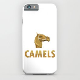I Just Freakin' Love Camels Humps Desert Animals Wildlife Camelus Gifts iPhone Case
