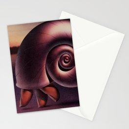 Finger Snail Stationery Cards