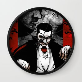 Dracula by Rummel Wall Clock