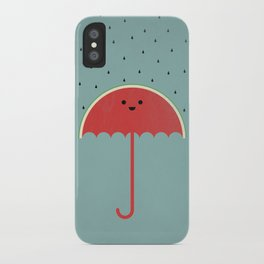 Watermelon Umbrella iPhone Case