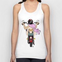 harley Tank Tops featuring Harley by Natalie Easton