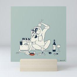 Assistant camera in quarantine Mini Art Print