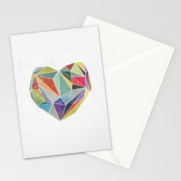 Heart Graphic 5 Stationery Cards