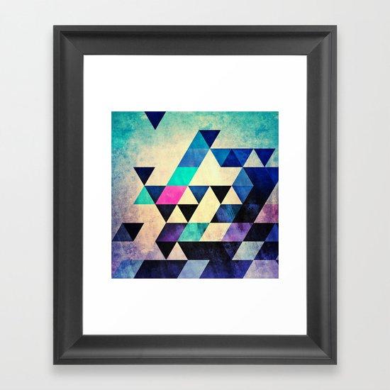 cyld syt Framed Art Print