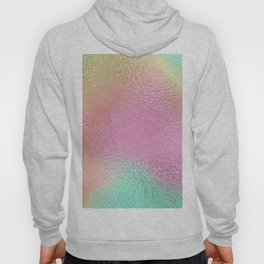 Simply Metallic in Iridescent Rainbow Hoody