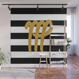Virgo Stripes Wall Mural