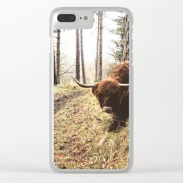 Wander the great outdoors Clear iPhone Case