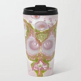 Mind Bubble in pink Metal Travel Mug