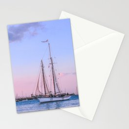 Sailing Yacht Stationery Cards