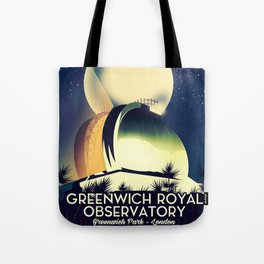 Royal Observatory Greenwich London Tote Bag