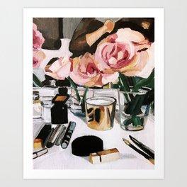 You're Lucky You're Pretty Art Print