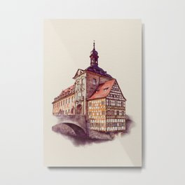 OLD TOWN HALL Metal Print