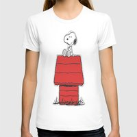 snoopy T-shirts featuring Snoopy by Simple Touch Apparel