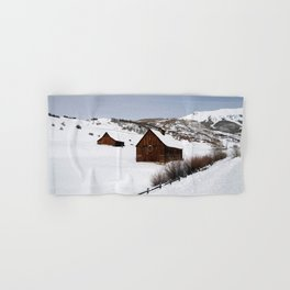 Snow Covered Cabin - Carol Highsmith Hand & Bath Towel