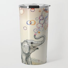 Elephant Bubble Dream Travel Mug