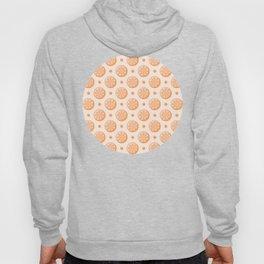 Citrus Orange Slice Pattern Hoody