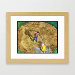 Closing the Loop Framed Art Print