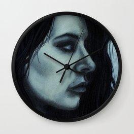 Melancholia Blue Wall Clock