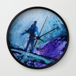 ACENSION #33 by Jack Larson Wall Clock