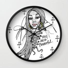 #STUKGIRL ASHLITA Wall Clock