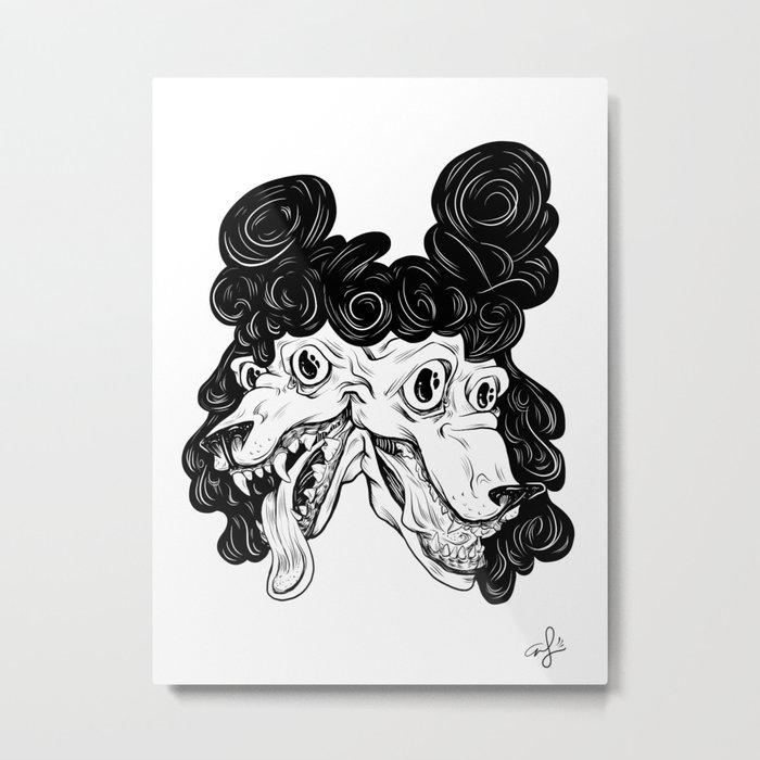 Double Dog Dare Metal Print