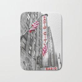 Radio City Music Hall New York Bath Mat