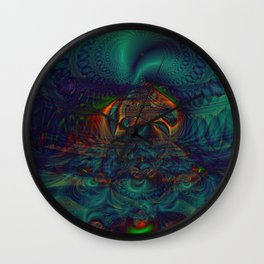 Trancelike State Psychedelic Wall Clock