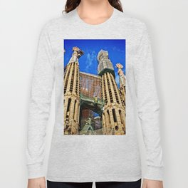 Sagrata Familia Long Sleeve T-shirt